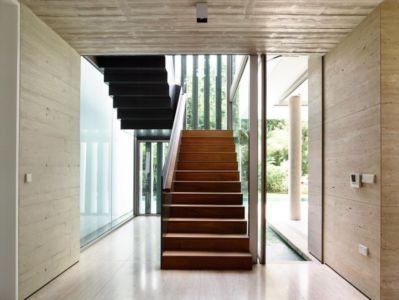 escalier - 59BTP House par ONG&ONG - Singapour