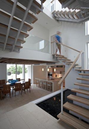 escalier - Ani Villas par Lee H. Skolnick Architecture - Anguilla