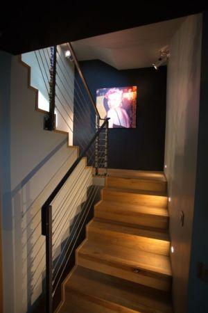 escalier - Barbo House par Ralph Büeler (Bend Group) - Genève, Suisse