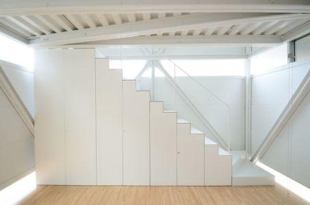 escalier - Boundary House par Niji Architects - Tokyo, Japon