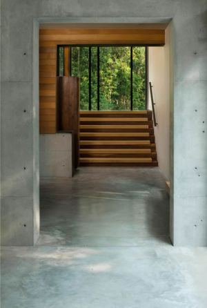 escalier - Bray's Island SC Modern II par SBCH Architects - Sheldon, Usa