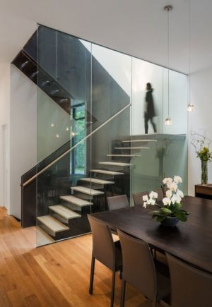 escalier - Bridge House par Höweler + Yoon Architecture - McLean, Usa