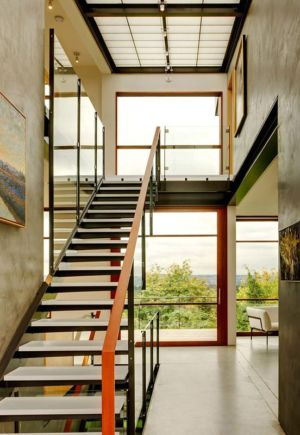 escalier - Capitol Hill par Balance Associates Architects - Seattle, Usa