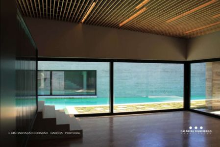 escalier - Cardio House par Caldeira Figueiredo Arquitectos - Portugal