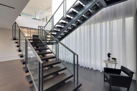 escalier - Carla Ridge par McClean Design - Beverly Hills, Usa