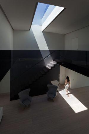escalier - Casa Balint par Fran Silvestre Arquitectos - Valence, Espagne