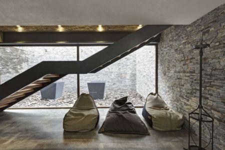 escalier - Casa MM par Elías Rizo Arquitectos - Mexique