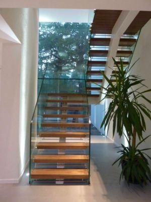 escalier - Cherry Orchard par Western Design Architects - Branksome, Royaume Uni
