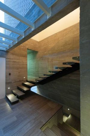 escalier - DATRI & DASA Homes by mavarq - Tepeji del Rio, Mexique