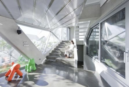 escalier - HWA HUN par IROJE KHM Architects - Pyeongchang-dong, Corée du Sud