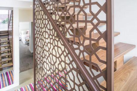 escalier - Hampton Residence par Finnis Architects - Melbourne, Australie