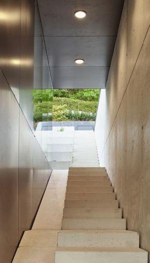 escalier - House-GT par Archinauten - Linz, Autriche