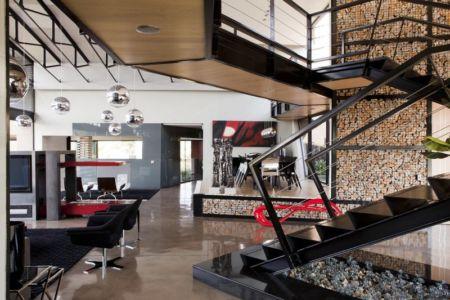 escalier - House Tsi par Nico van der Meulen Architects - Afrique du Sud