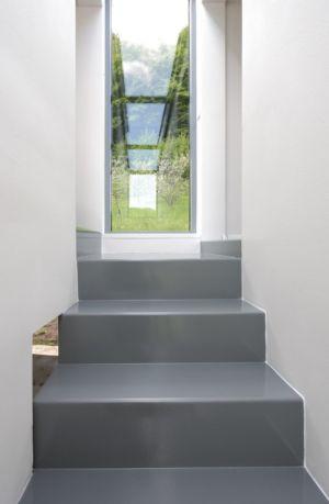 escalier - House Vaňov par 3-1architekti - Vaňov, République Tchèque