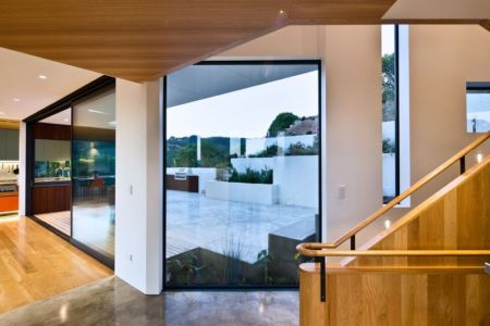 escalier - Korokoro House par Parsonson Architects - Korokoro, Nouvelle Zélande