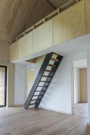 escalier - La Casa de Libre Mantenimiento par Arkitema Architects  - Danemark