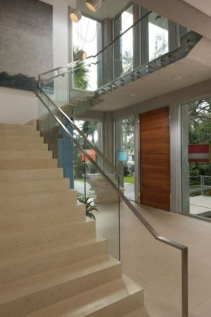 escalier - Mimo house par Kobi Karp architecture - Miami Beach, Usa