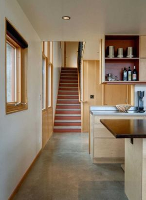 escalier - Nahahum Canyon House par Balance Associates - Nahahum Canyon, Usa