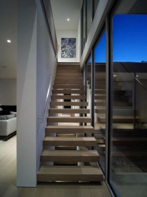 escalier - Orchard House par Stelle Lomont Rouhani Architects - Sagaponack, Usa