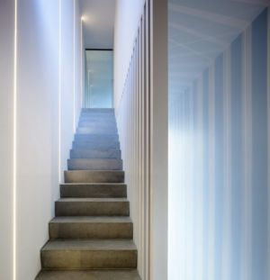escalier -- Percy lane luxury homes par Odos architects - Dublin Irlande.jpg