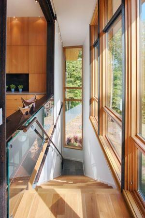 escalier - Piedmont Residence par Carlton Architecture - Asheville, Usa