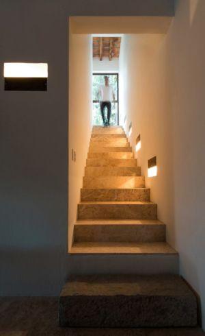 escalier - Pinar house par MO+G Taller de arquitectura - Zapopan, Mexique