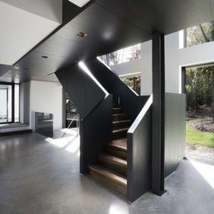 escalier - Private Residence St-Sauveur par  Saucier + Perrotte architectes -  Saint-Sauveur, Canada