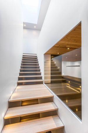 escalier - Résidence Waverly par MU Architecture - Montréal, Canada