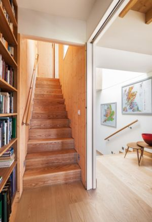 escalier - Stackyard House par Mole Architects - Palgrave, Royaume-Uni