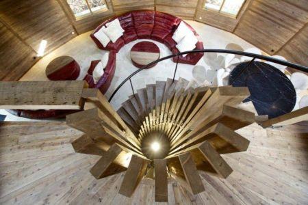 escalier - The Dome Home par Timothy Oulton Design - Foshan, Chine