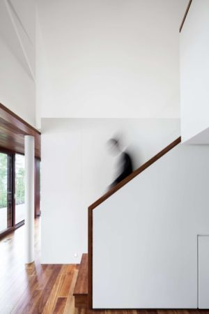 escalier - The Elves par Alain Carle Architecte - Morin-Heights, Canada