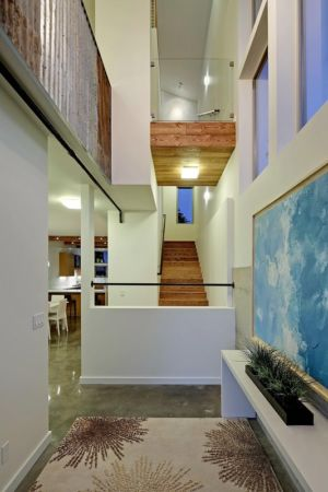 escalier - Unique Reclaimed Modern par Dwell Development LLC - Seattle, Usa