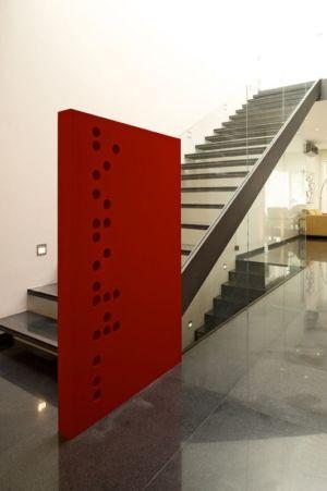 escalier - V-House par Agraz Arquitectos - Puerta Plata, Mexique