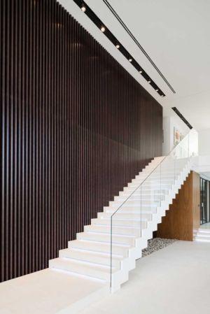 escalier - Villa Agalarov par SL Project - près de Moscou, Russie
