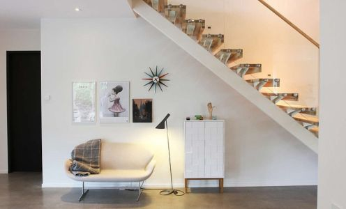 escalier - Villa E par Stringdahl Design - Suède