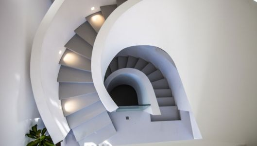 escalier - Villa Horizon - Arbonne - France