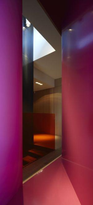 escalier - Villa T  par Boyer Percheron Assus architecture - Saint-Gély-du-Fesc, France