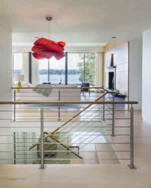 escalier - Westport River House par Ruhl Walker Architects - Massachusetts, USA