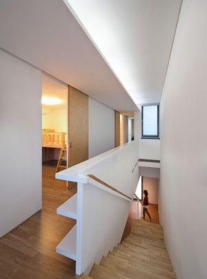 escalier - Woljam-ri House par JMY architects - Gyeongsangnam-do, Corée du Sud