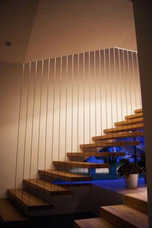 escalier éclairé - Muk par mahore architects - Saalfelden, Autriche