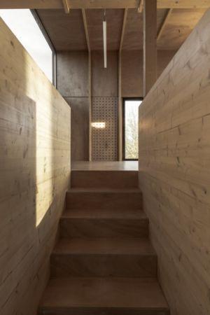 escalier accès - Cliffs Impasse par ZIEGLER Antonin architecte - Senneville-sur-Fécamp, France