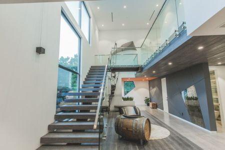 escalier accès étage - Angular-Lines par Amit Apel - Los Angeles, USA