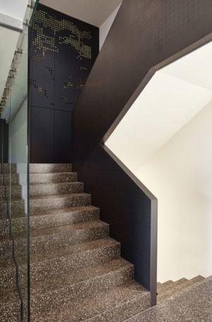 escalier accès étage - House-GT par Archinauten - Linz, Autriche