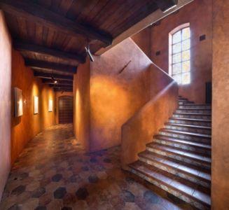 escalier accès étage - Residence-BO par Baraban+design studio - Kiev, Ukraine