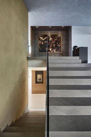 escalier accès étage - Villa-La-Madone par A2cm - France