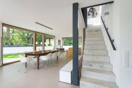 escalier accès étage - despang par Despang Schlüpmann Architekten - Allemagne