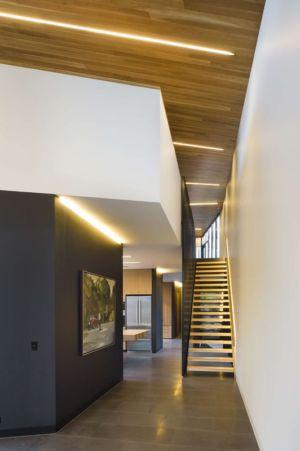 escalier accès étage - harold-residence par Jackson Clements Burrows - Melbourne, Australie