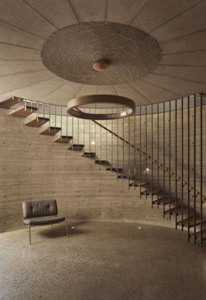 escalier accès étage - maison exclusive par CplusC - Waverley, Australie