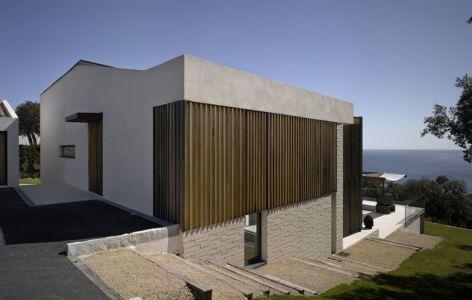 escalier accès balcon étage - Villa-Brash par Jak Studio - Saint-Tropez, France