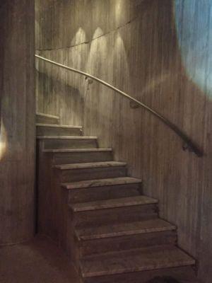 escalier accès niveau supériuer - Sun Path House par Studio Christian Wassmann - Miami, USA